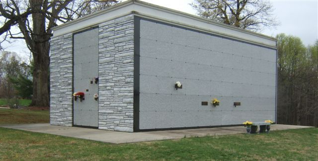 Large Modern Mausoleum