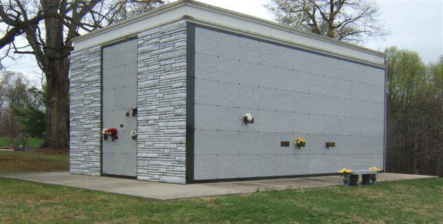 Large Modern Mausoleum Acme Stone Company