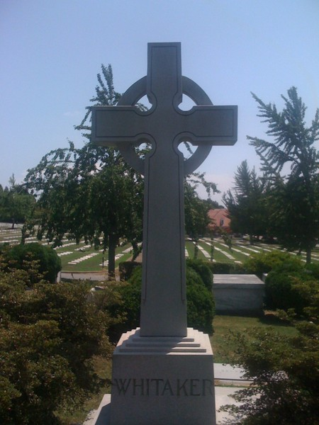 Large Upright Cross Monument